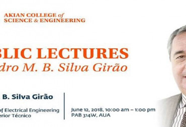 "Public lectures:""The world today and in the future"" & ""Teaching Electrical and Computer Engineering in the near future"""