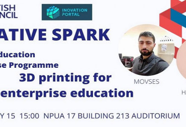 3D printing for enterprise education